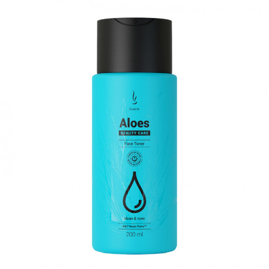 Тоник для ухода за лицом DuoLife Beauty Care Aloes Face Toner 200ml