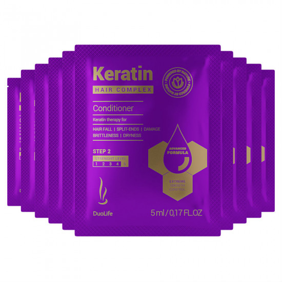 Sample DuoLife Keratin Hair Complex Advanced Formula Conditioner 5ml (10 pcs)