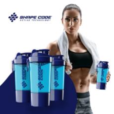 Шейкер SHAPE CODE® Shaker Bottle – пускай каждая тренировка станет особенной!